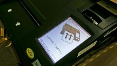 ¿Cómo votar correctamente en las máquinas de escrutinio electrónico?