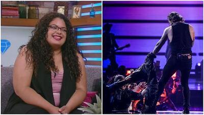Fan que le arrancó la chamarra a Maluma en Premios Juventud nos visitó en El Gordo y La Flaca y contó todo