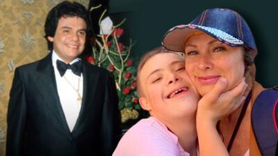 """Lety Calderon dice que su hijo Luciano canta y se siente José José porque es """"súper romántico"""""""