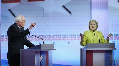 Debate demócrata en Wisconsin