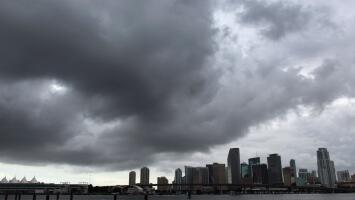 Cielos nublados y tiempo seco, el pronóstico para la tarde del lunes en Miami
