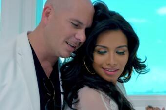 ¡Calor! Pitbull tiene mucho 'Fun' con Marisela Demontecristo en su nuevo video