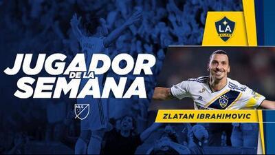 Tras su espectacular triplete del domingo, Zlatan Ibrahimovic es el Jugador de la Semana