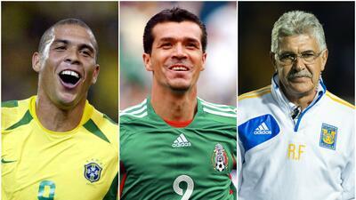 Ronaldo, Borgetti y Ferretti al Salón de la Fama del Fútbol