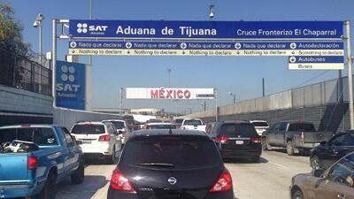 Cierran el principal cruce fronterizo hacia México durante tres días