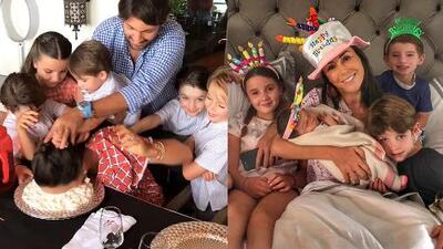 Inés Gómez Mont celebró su cumpleaños con pastelazo en la cara y serenata de su papá a distancia