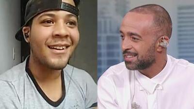 La incomparable reacción del cantante que descubrió Mario Domm en la calle al recibir dos grandes noticias