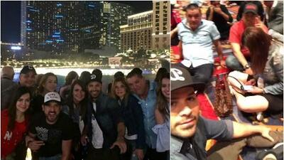 Integrantes de La Leyenda viven de cerca los dramáticos momentos de Las Vegas