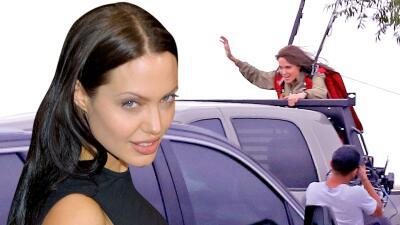 Casi 20 años después de Tomb Raider, Angelina Jolie vuelve a sus escenas de acción estilo Lara Croft