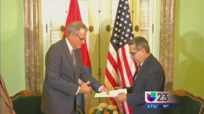 Cubanos esperanzados tras anuncio de reapertura de embajadas