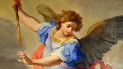 El arcángel Miguel, patrono de la protección
