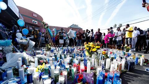 """""""Un hombre que trabajó duro para hacer algo bueno"""": así recuerdan los californianos al rapero Nipsey Hussle"""