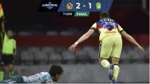 Resumen   América saca triunfo agónico 2-1 sobre León