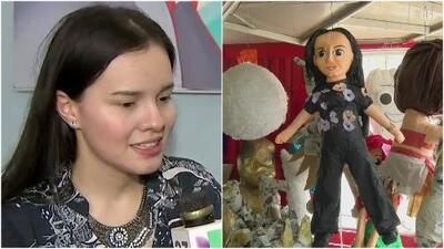 Con una piñata de Sarita, mexicanos rechazan las acciones de la hija menor de José José tras su muerte