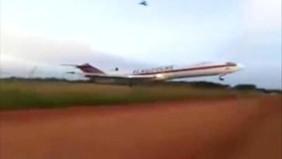 Así fue el accidente del avión de Aerosucre en Puerto Carreño, Colombia