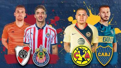 Grandes de México vs. Grandes de Argentina en un torneo