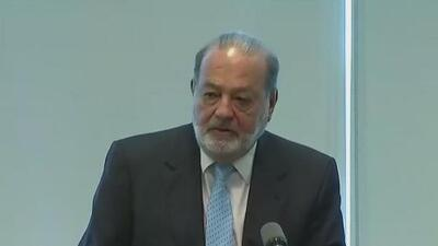 """Carlos Slim: """"La situación y las circunstancias de Estados Unidos no son muy favorables"""""""