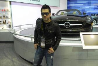 DJ Omarcillo en el Chicago Auto Show 2012