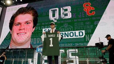 Sam Darnold fue seleccionado #3 global por los New York Jets