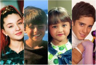 Así cambiaron los niños de las telenovelas que nos robaron el corazón