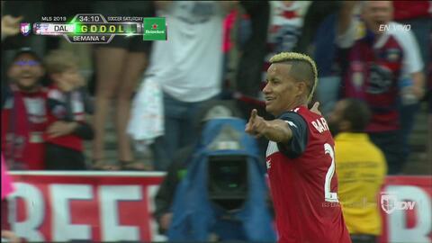 ¡Letal dupla colombiana! Ferreira la pone y Michael Barrios la manda a guardar
