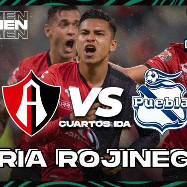 Resumen | Atlas saca ventaja de 1-0 sobre Puebla en Cuartos de Final
