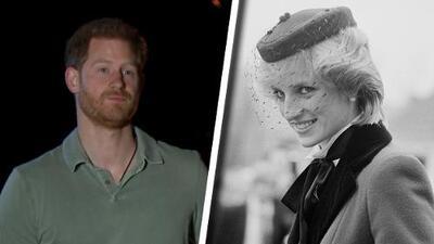 """El príncipe Harry admite que la muerte de Lady Di aún es una """"herida abierta"""" que las cámaras le hacen recordar"""