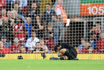 La victoria del Liverpool sobre el Norwich, en imágenes