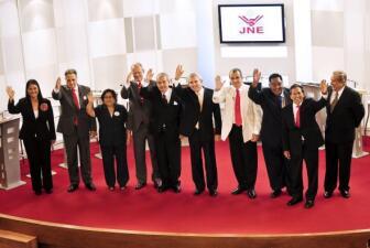 Candidatos presidenciales de Perú