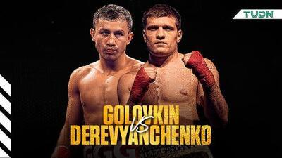 Golovkin vs. Derevyanchenko, el camino a Canelo
