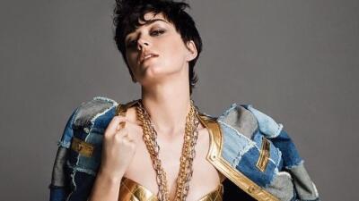 Katy Perry es la nueva cara de la línea de ropa Moschino