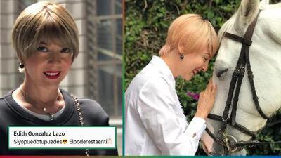 El cáncer acabó con la vida de Edith Gonzalez a los 54 años