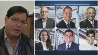 Todo listo para el último y decisivo debate entre los candidatos a la Gobernación por Univision Puerto Rico