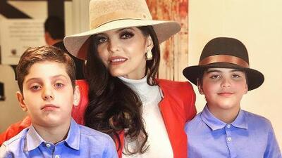 Ana Bárbara enseña a sus hijos a echarse un grito ranchero