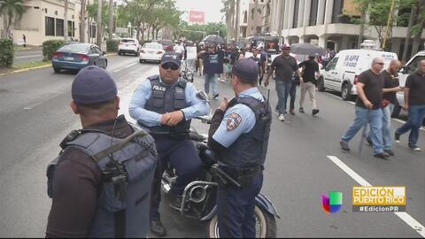 La Policía de Puerto Rico implementa un plan de contingencia ante el último apagón