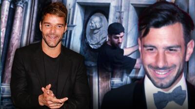 Ricky Martin y su esposo cambian de posición: el cantante aplaude en Roma la obra de Jwan Yosef