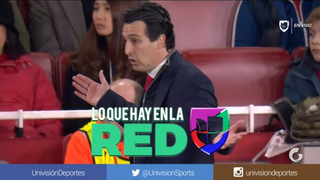 ¿Telepatía? Unai Emery 'le envió' la señal a Mustafi para el segundo gol del Arsenal ante el BATE