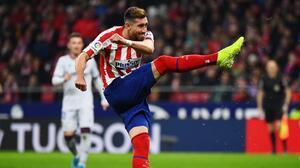 Héctor Herrera valoró el liderato del Atlético de Madrid en LaLiga