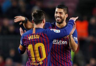 En fotos: Barcelona sufre más de la cuenta para superar al Leganés