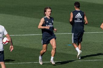 Modric y su primer entrenamiento como ganador en 'The Best' 2018