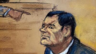Joaquín 'El Chapo' Guzmán es declarado culpable de 10 cargos de narcotráfico y conspiración