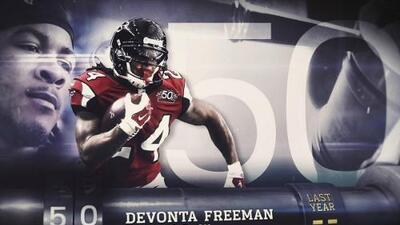 Top 100 Jugadores del 2016: (Lugar 50) RB Devonta Freeman