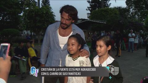 Cristián de la Fuente alborotó las calles de Michoacán