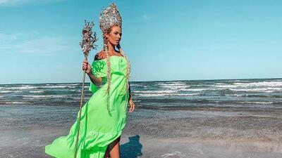 Irina Baeva es coronada como 'La Reina del Festival del Mar' en Matamoros