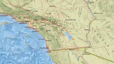 Más de 30 temblores vuelven a agitar el área junto al extremo sur de la falla de San Andrés
