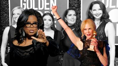 El contundente discurso de Oprah y otros reclamos contra el machismo que sacudieron los Globos de Oro