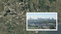 Google muestra desde un satélite los cambios que ha tenido Houston en los últimos 35 años