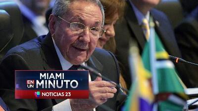'Miami en un Minuto': Raúl Castro no abandonará su cargo en febrero sino en abril de 2018