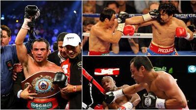"""Juan Manuel """"Dinamita"""" Márquez, memorable campeón en el ring celebra 46 años"""