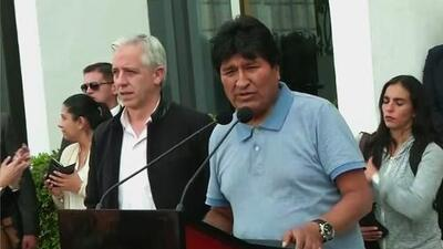 Evo Morales flees Bolivia for political asylum in Mexico